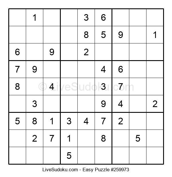 Beginners Puzzle #259973
