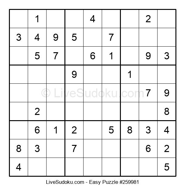 Beginners Puzzle #259981