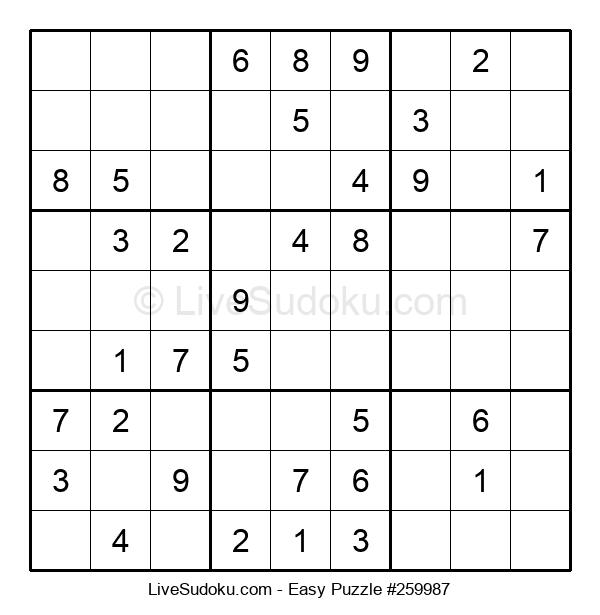 Beginners Puzzle #259987
