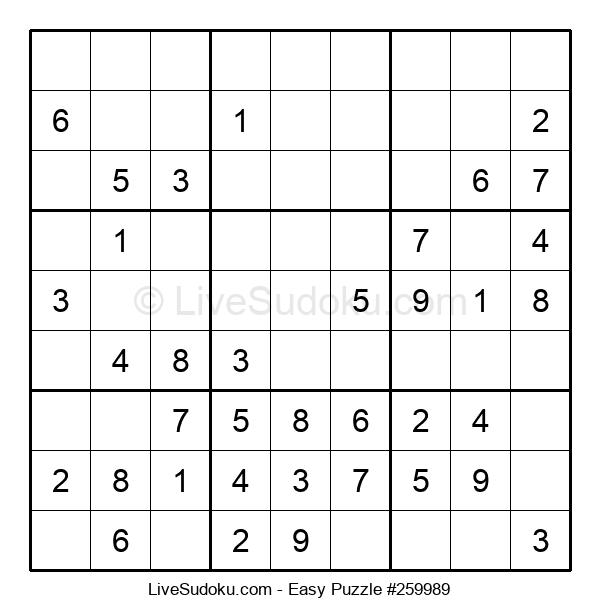 Beginners Puzzle #259989