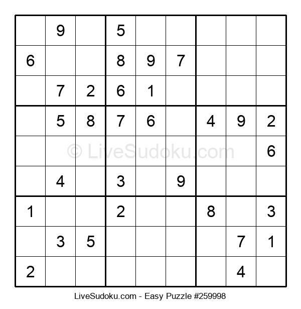 Beginners Puzzle #259998