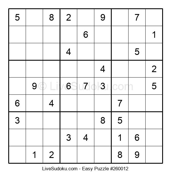 Beginners Puzzle #260012