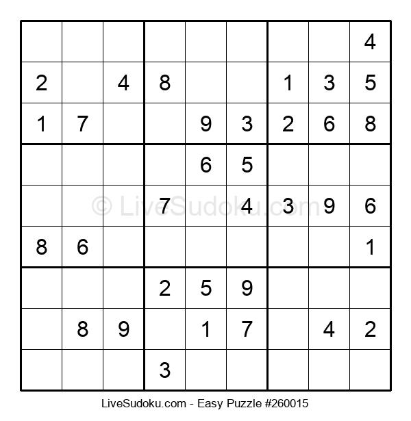 Beginners Puzzle #260015
