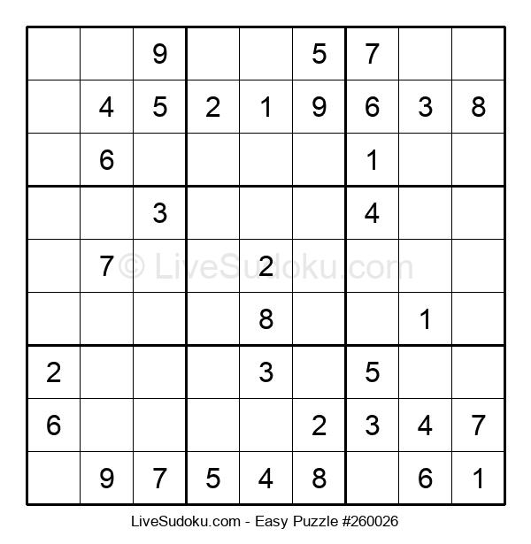 Beginners Puzzle #260026