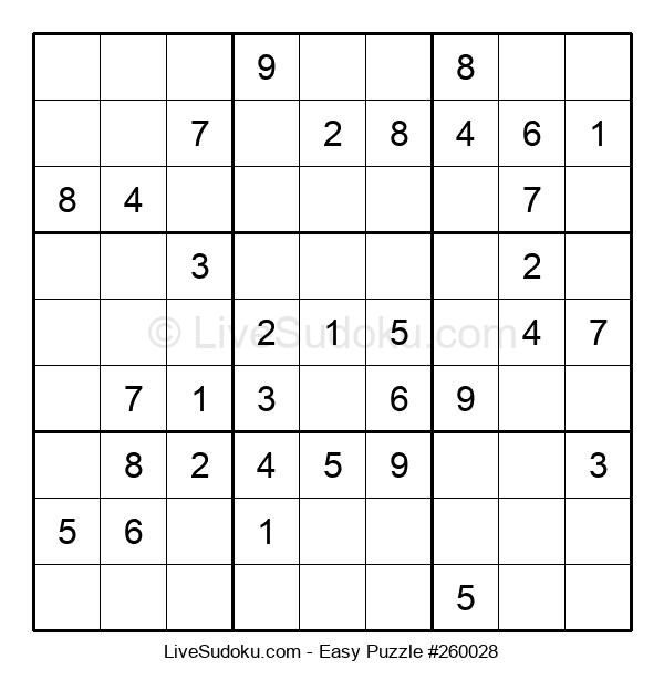 Beginners Puzzle #260028