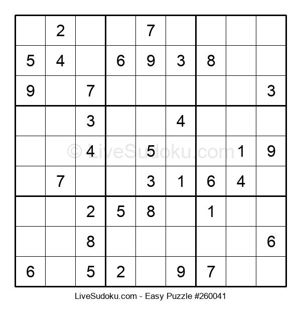 Beginners Puzzle #260041