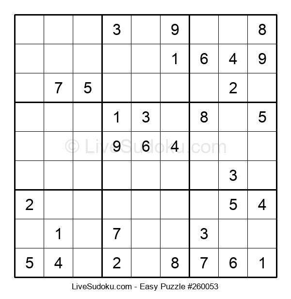 Beginners Puzzle #260053