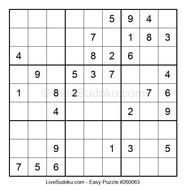 Beginners Puzzle #260063