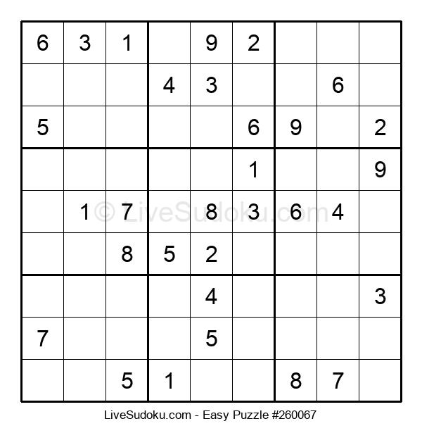 Beginners Puzzle #260067