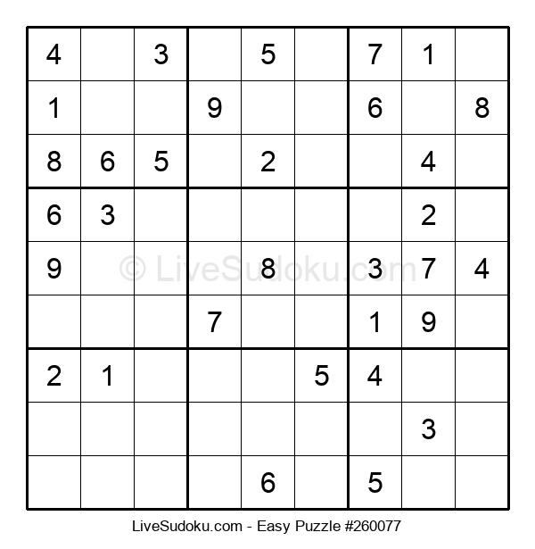 Beginners Puzzle #260077