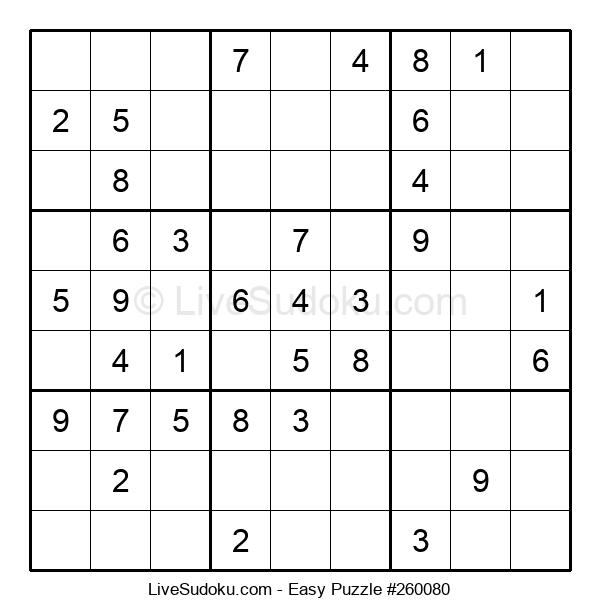 Beginners Puzzle #260080