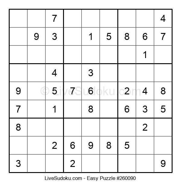 Beginners Puzzle #260090