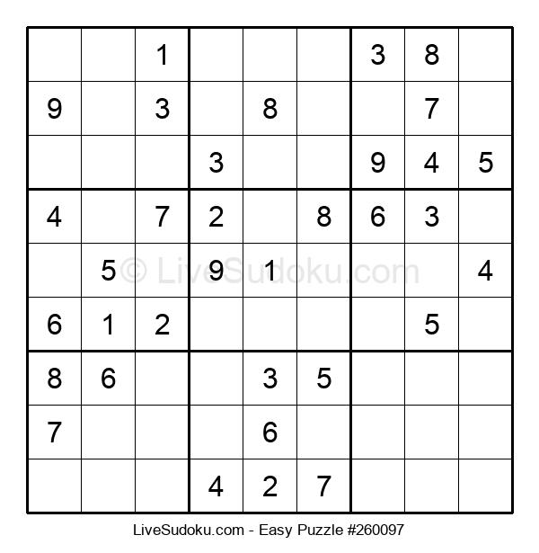 Beginners Puzzle #260097