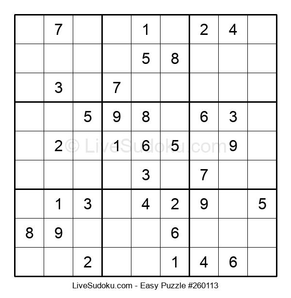 Beginners Puzzle #260113