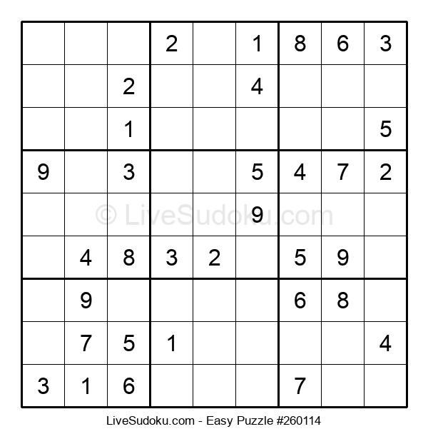 Beginners Puzzle #260114
