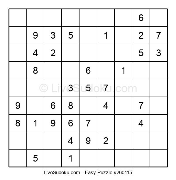 Beginners Puzzle #260115