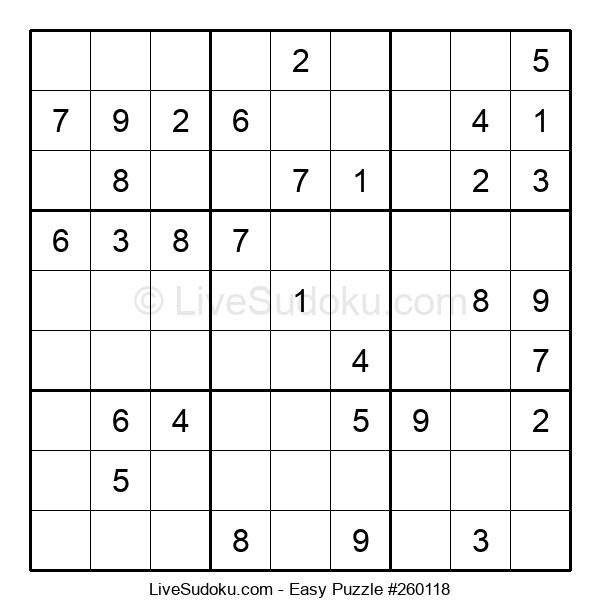 Beginners Puzzle #260118