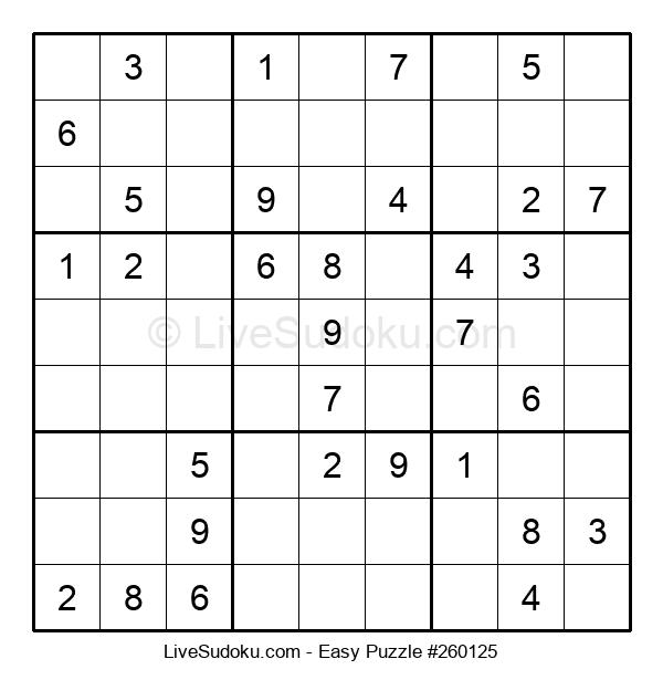 Beginners Puzzle #260125