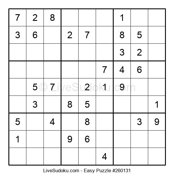 Beginners Puzzle #260131