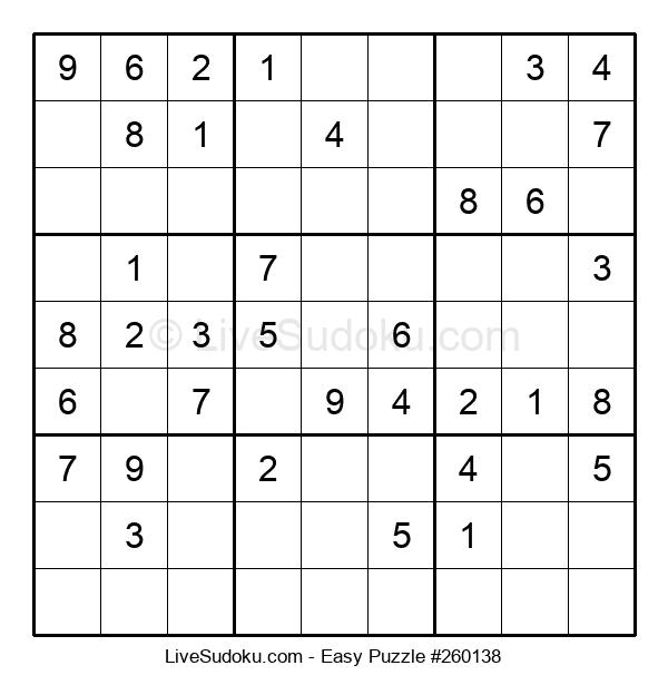 Beginners Puzzle #260138