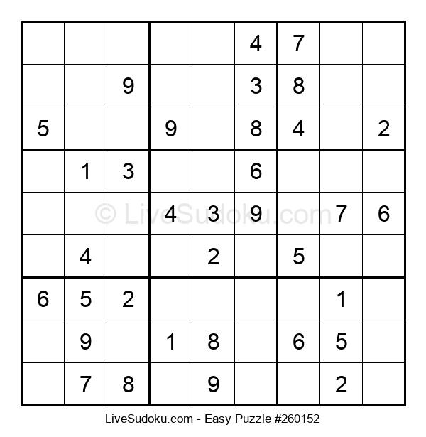 Beginners Puzzle #260152