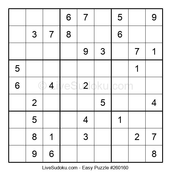 Beginners Puzzle #260160
