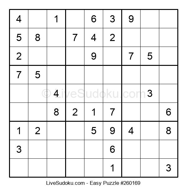 Beginners Puzzle #260169