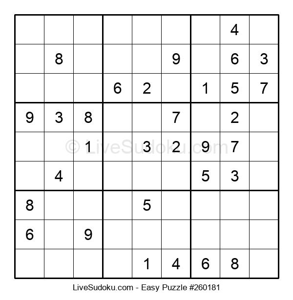 Beginners Puzzle #260181