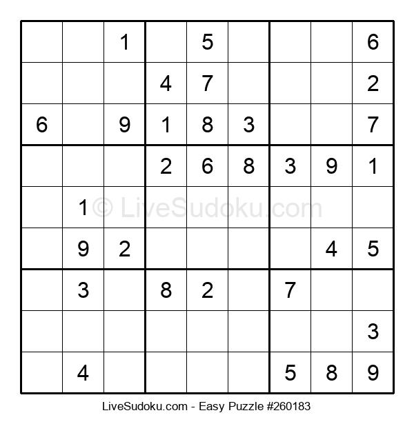 Beginners Puzzle #260183