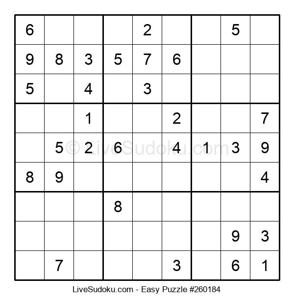 Beginners Puzzle #260184