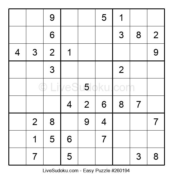 Beginners Puzzle #260194