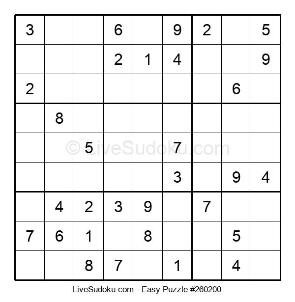 Beginners Puzzle #260200
