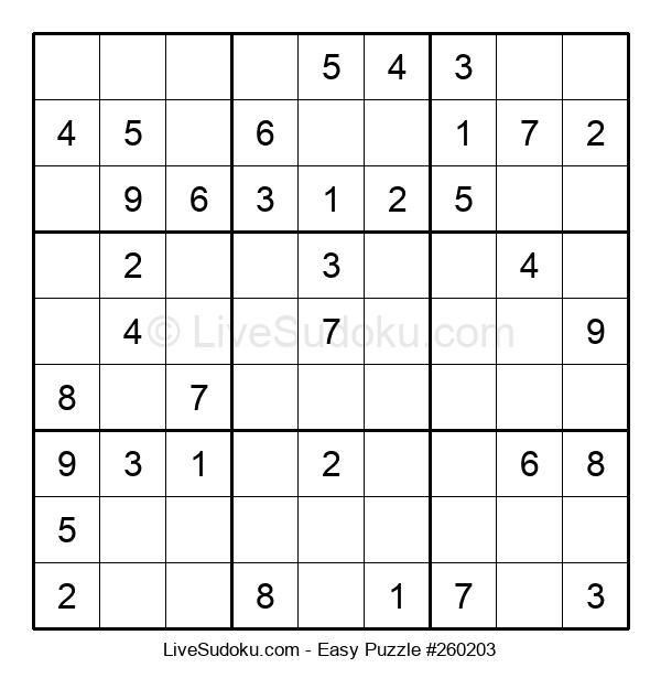 Beginners Puzzle #260203