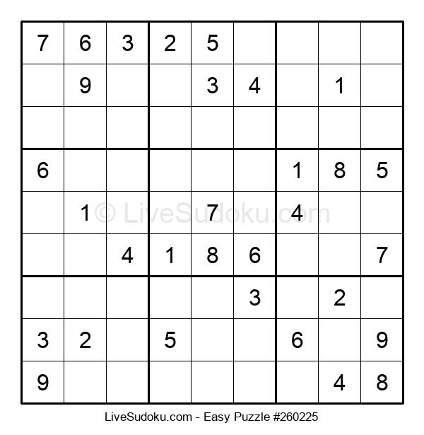 Beginners Puzzle #260225