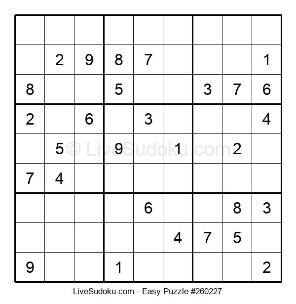 Beginners Puzzle #260227