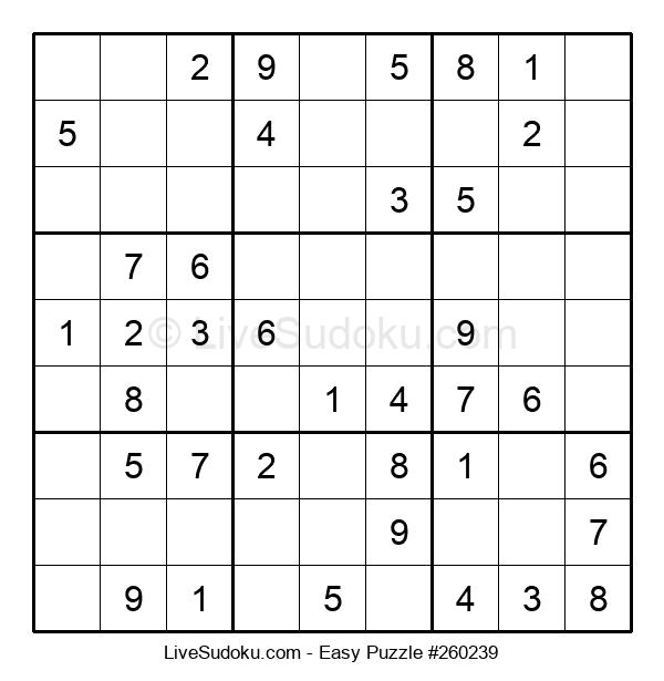 Beginners Puzzle #260239