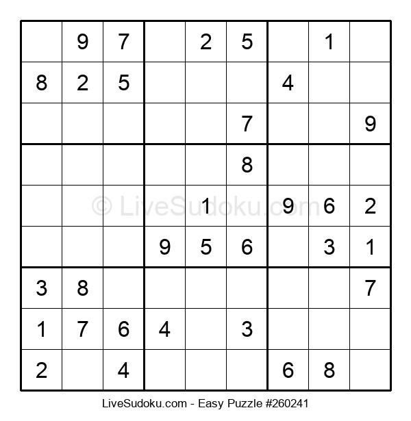 Beginners Puzzle #260241