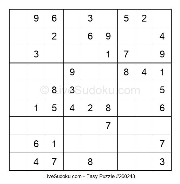Beginners Puzzle #260243