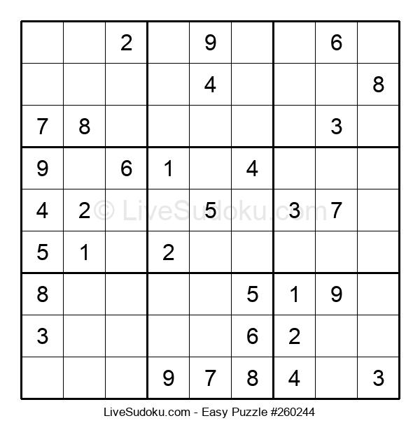 Beginners Puzzle #260244