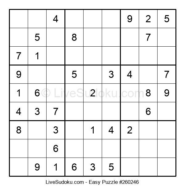 Beginners Puzzle #260246