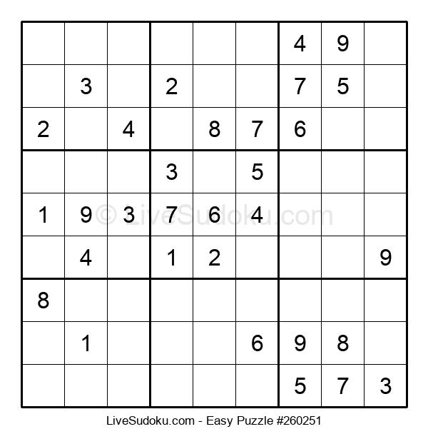 Beginners Puzzle #260251