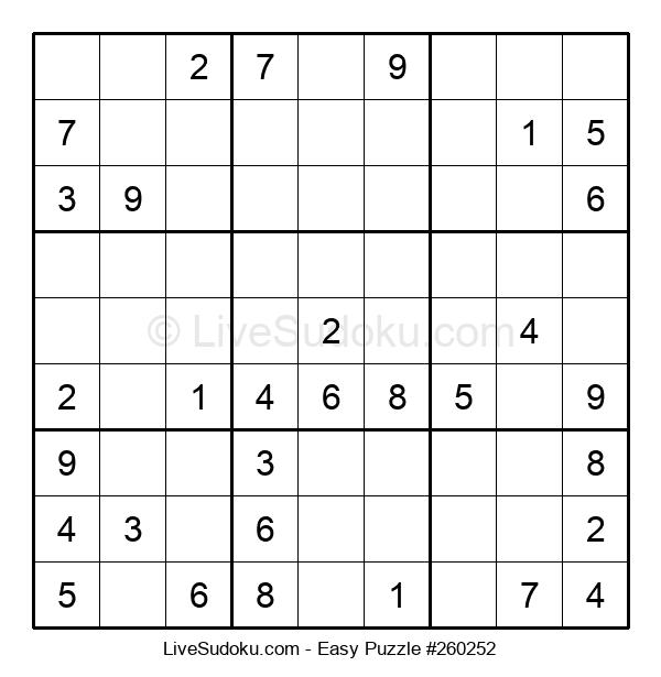 Beginners Puzzle #260252