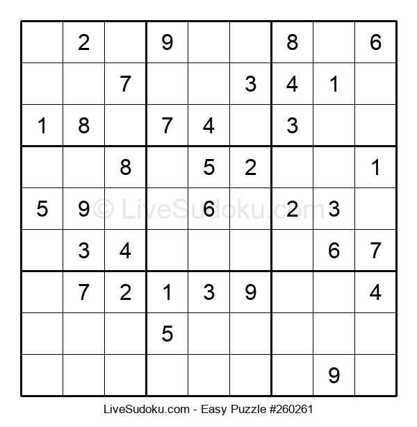Beginners Puzzle #260261