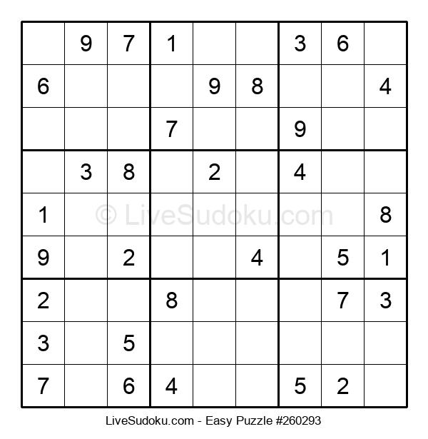 Beginners Puzzle #260293