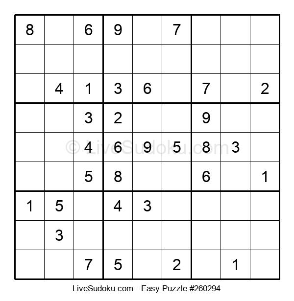 Beginners Puzzle #260294