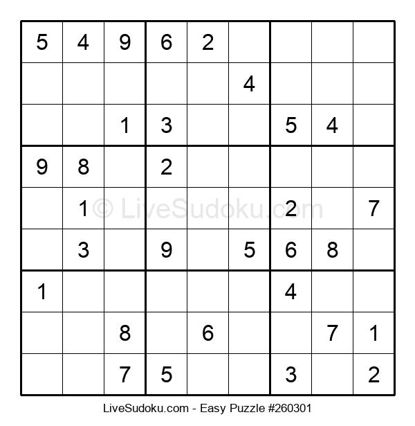 Beginners Puzzle #260301
