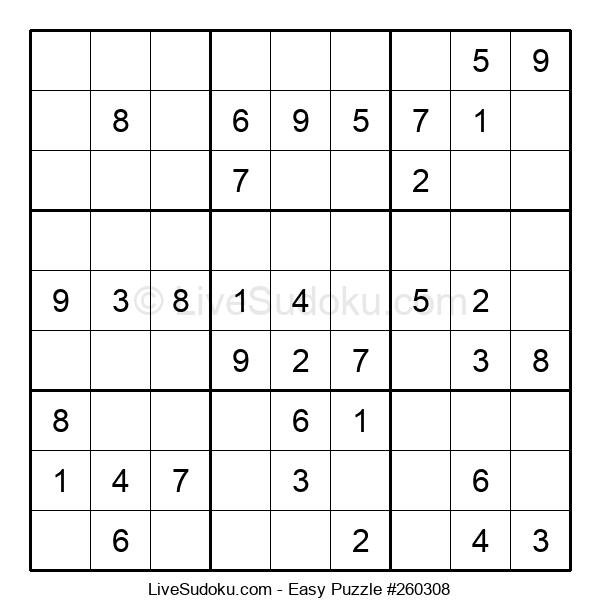 Beginners Puzzle #260308