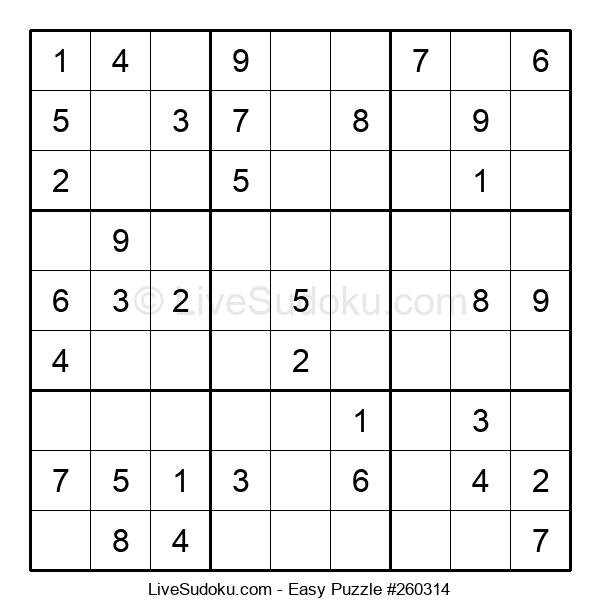 Beginners Puzzle #260314