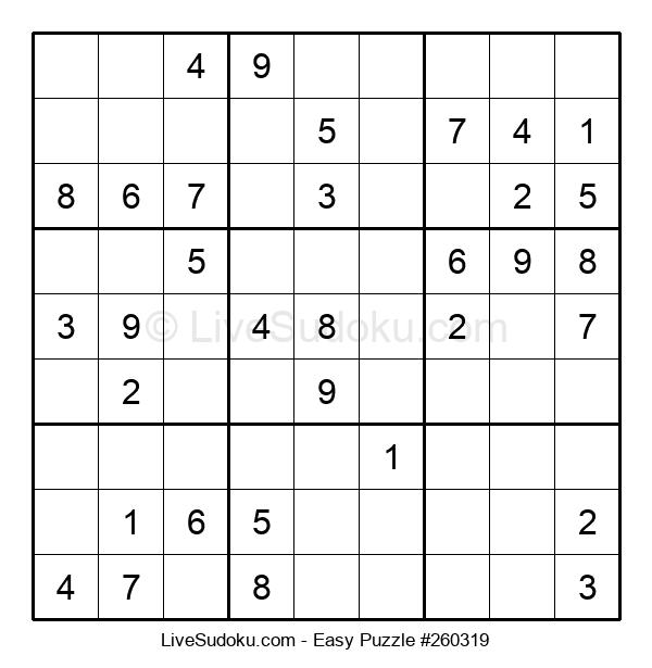 Beginners Puzzle #260319