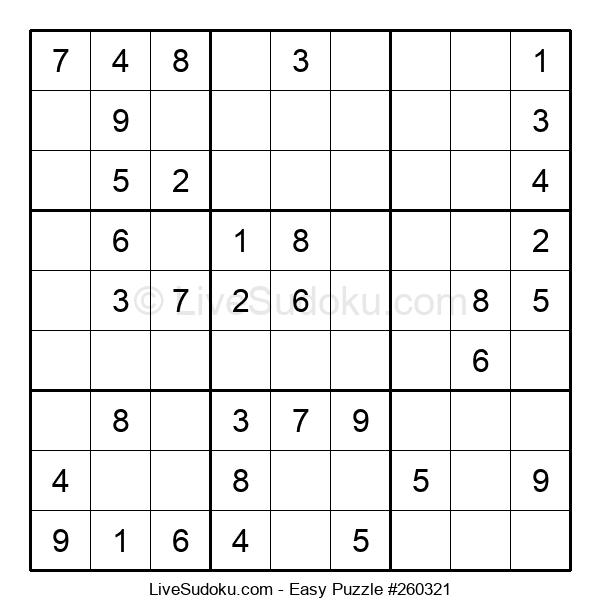 Beginners Puzzle #260321